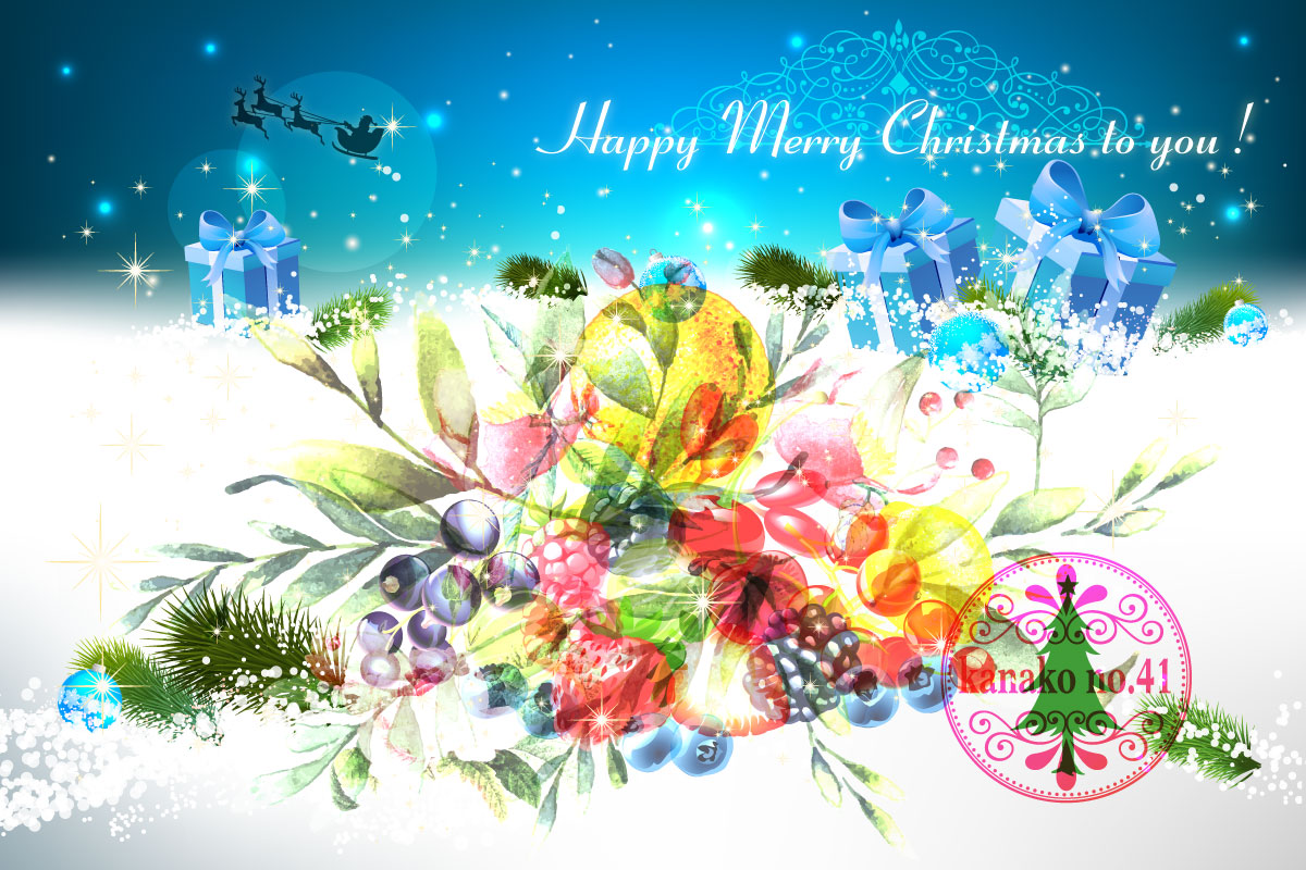 Happy Merry Christmas to you !…